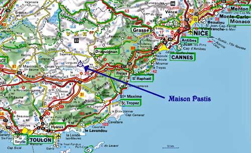kart over sør frankrike Kunne du tenke deg en treningstur til Sør Frankrike i høst  kart over sør frankrike