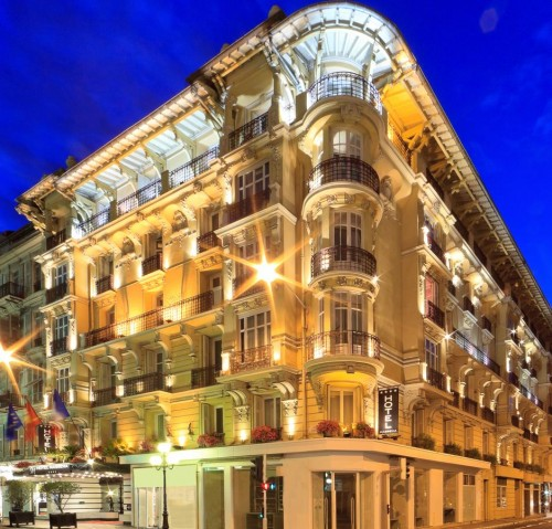 Ryes valgte hotell i Nice - Cannes maraton